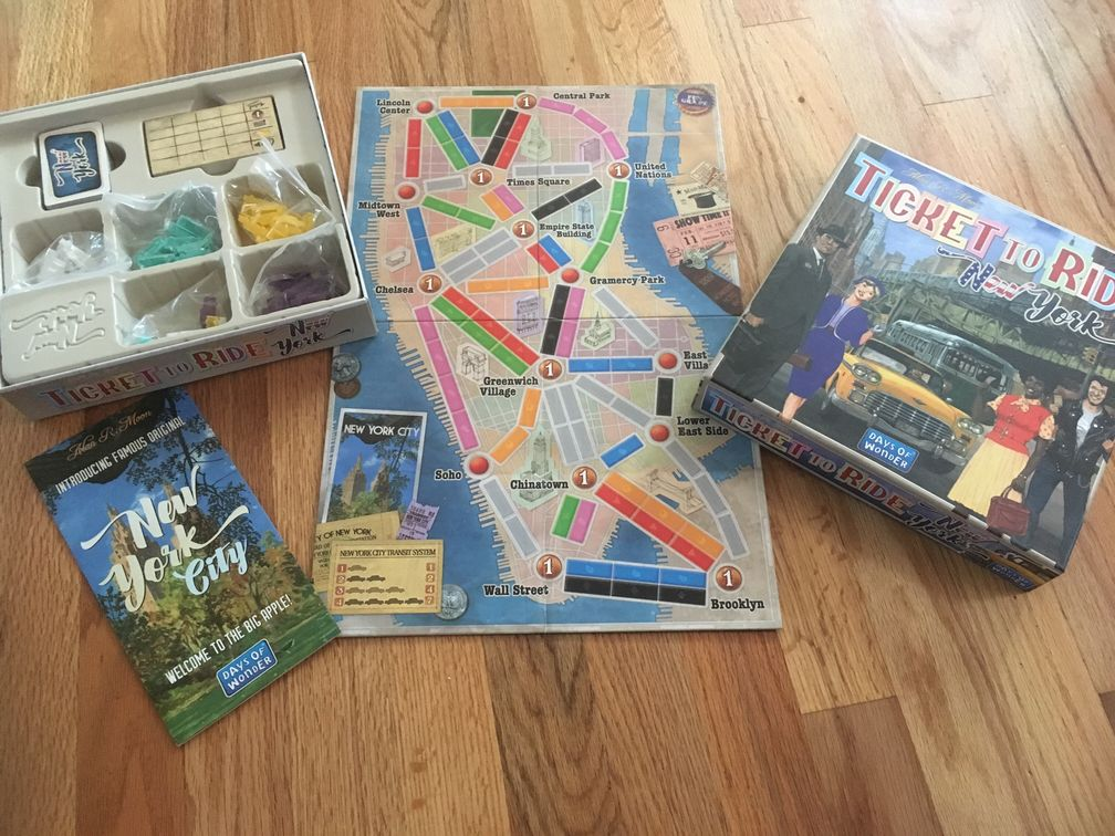 ボードゲーム Ticket to Ride
