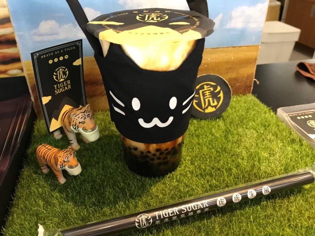 「TIGER SUGAR」の黒糖ボバミルクティ
