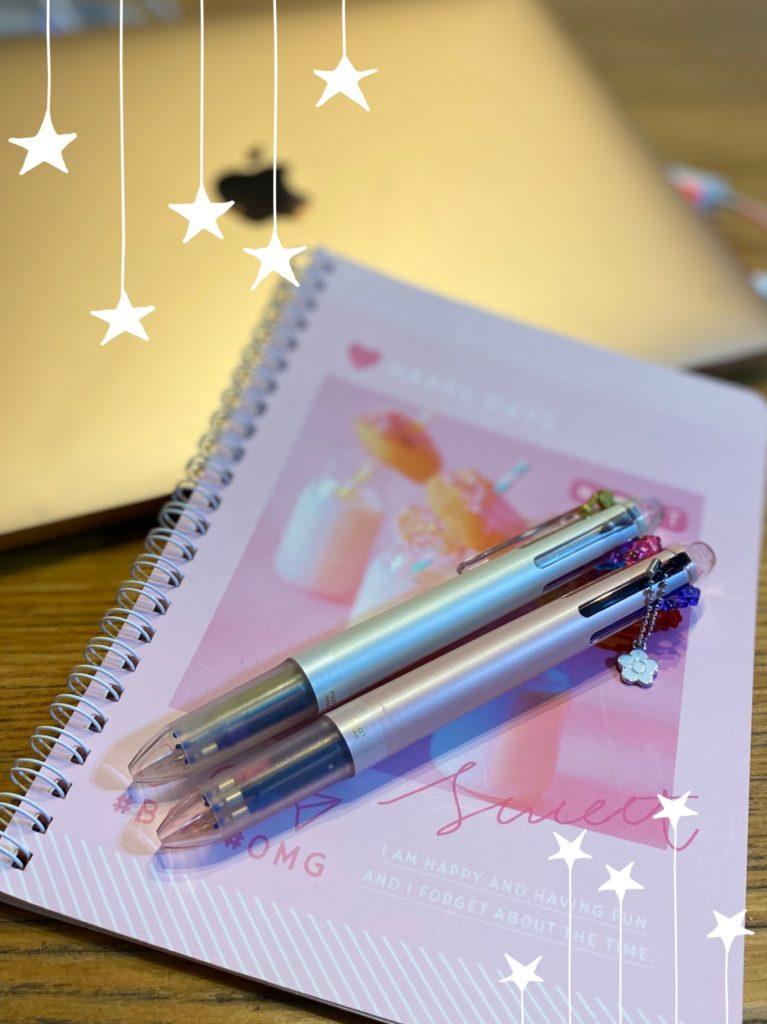 多色カラーペン&メモ