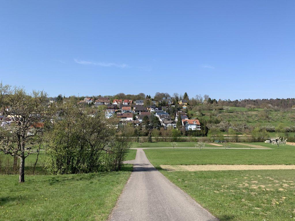 ドイツの田舎街