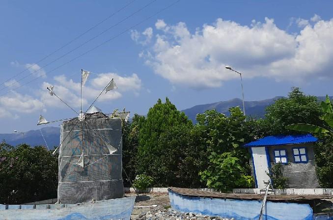 ギリシャの風車