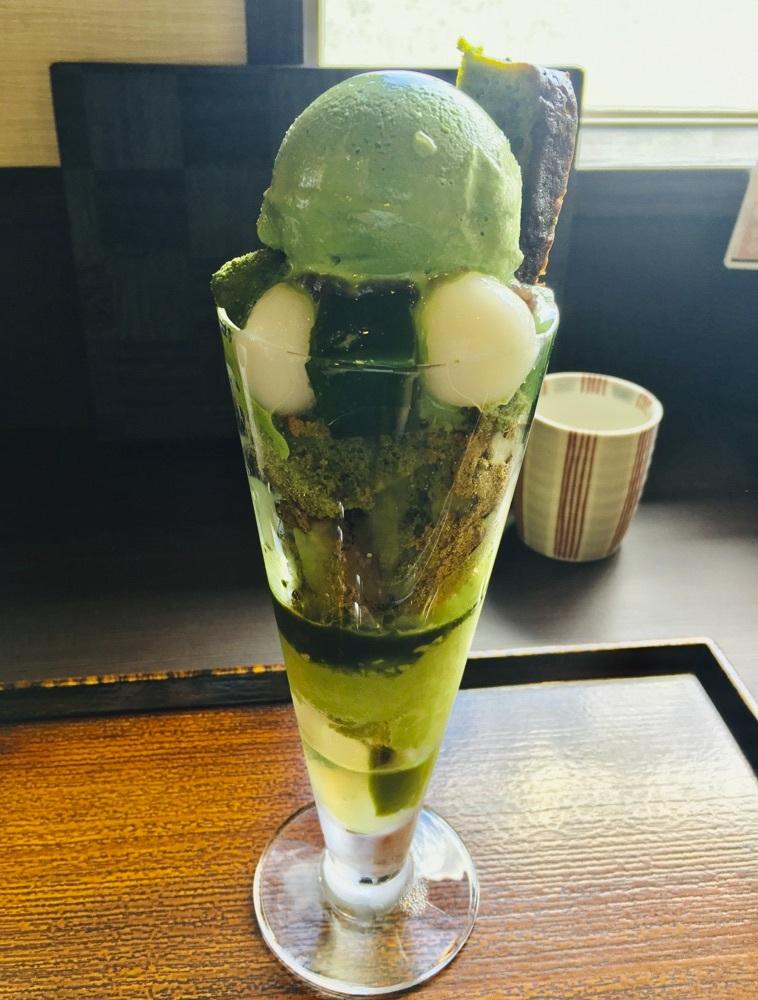 Green Tea Parfait