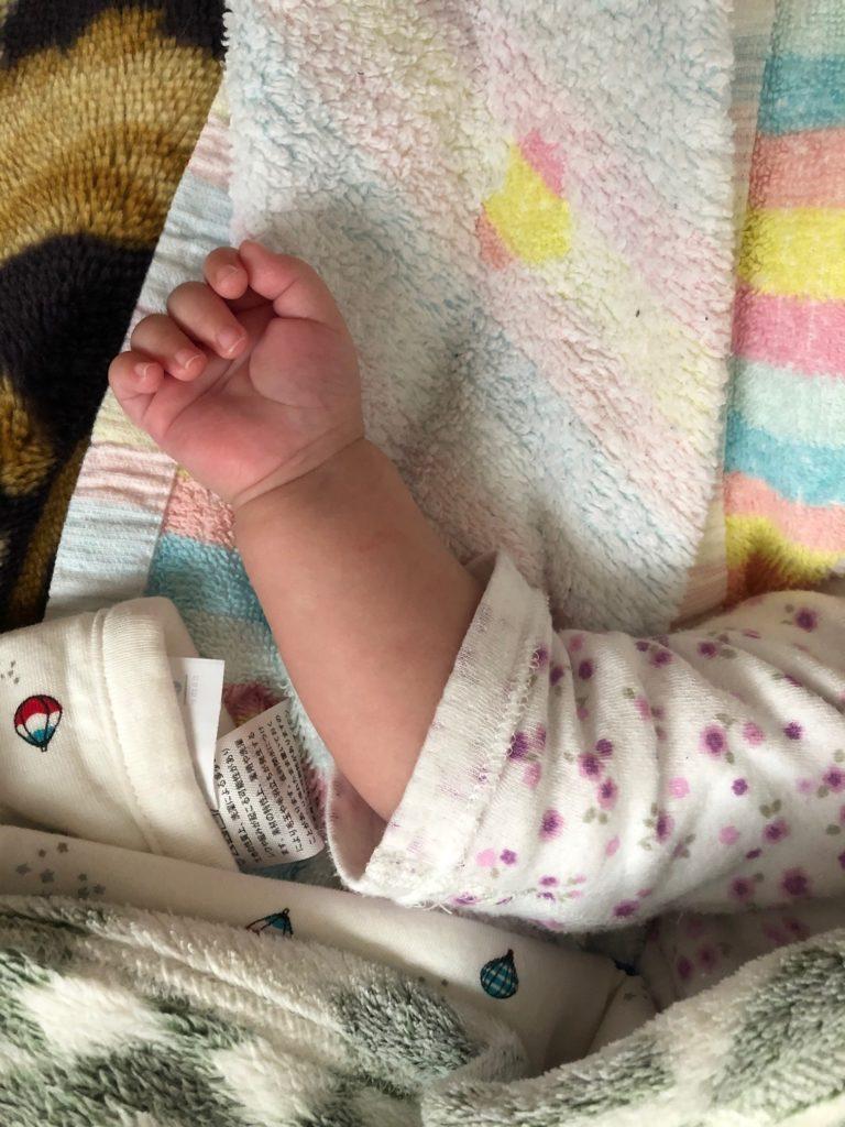 Baby arm