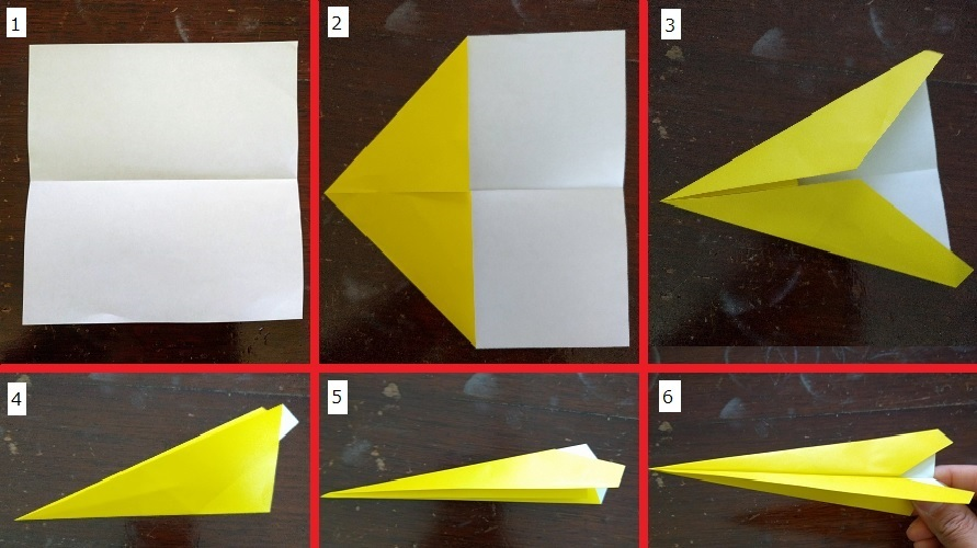 How to make your paper airplane: