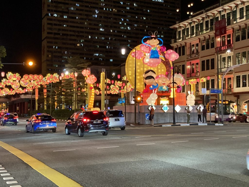 Chinatown during the Mid-Autumn festival!