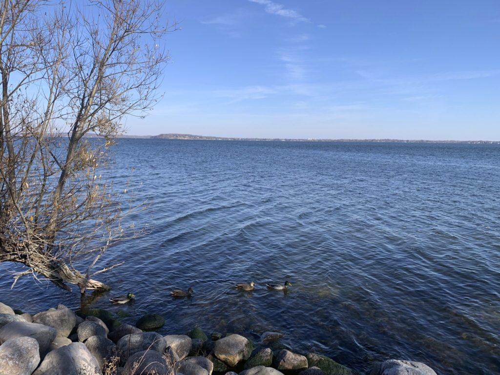A big lake